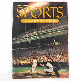August 16, 1954 1st Issue of Sports Illustrated W/ 1954