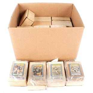 50 Notre Dame Football Cards Encased in Thick Plastic
