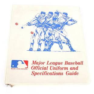1980 Major League Baseball Official Uniform and