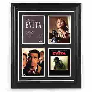Madonna, Antonio Banderas & Alan Parker Signed Evita