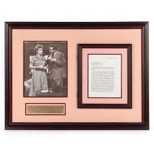 1958 Desilu Productions Lucille Ball & Desi Arnaz
