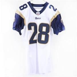 2002 Marshall Faulk Game Used St. Louis Rams Football