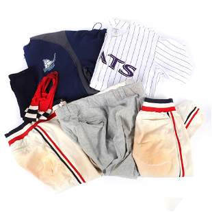 Lot of Minor League Game Used Items, Jersey, Pants,