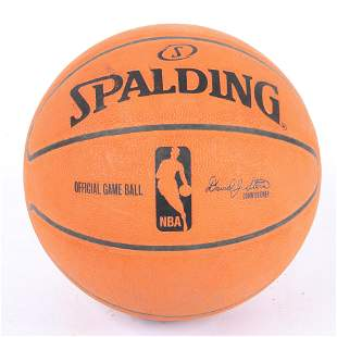 Rare 2006 Indiana Pacers Game Used Synthetic Basketball