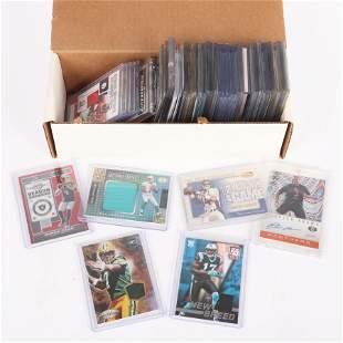 Lot of 98 Football Cards, Stars, Rookies, Autographs,