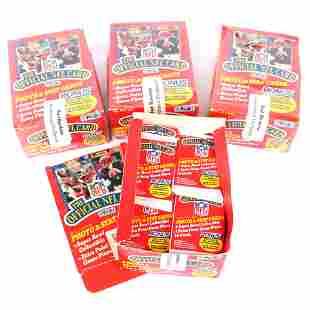 4 - 1989 NFL Pro Set Football Card Wax Boxes
