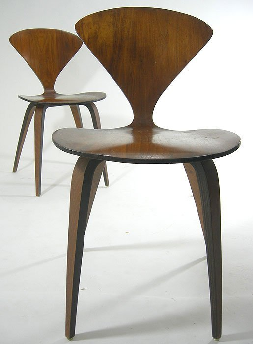 169:  MID CENTURY MODERN MULHAUSER FOR PLYCRAFT CHAIRS