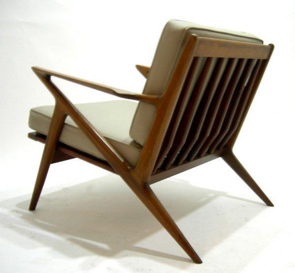 ... Selig Z Chair Straps By 252 Pair Danish Modern Selig Jensen Z Chairs  Eames Era ...