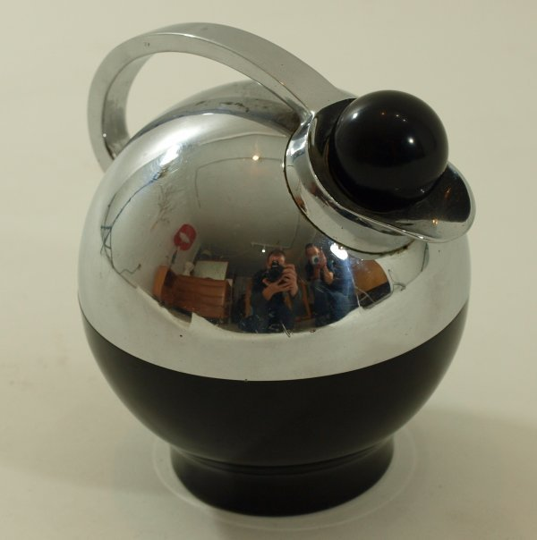 """1002: Loewy """"Spherical Miracle"""" Carafe for Thermos"""