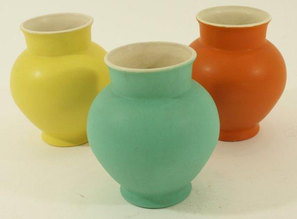 1023: 1930's Coors Pottery Ceramic Vase- Art Deco