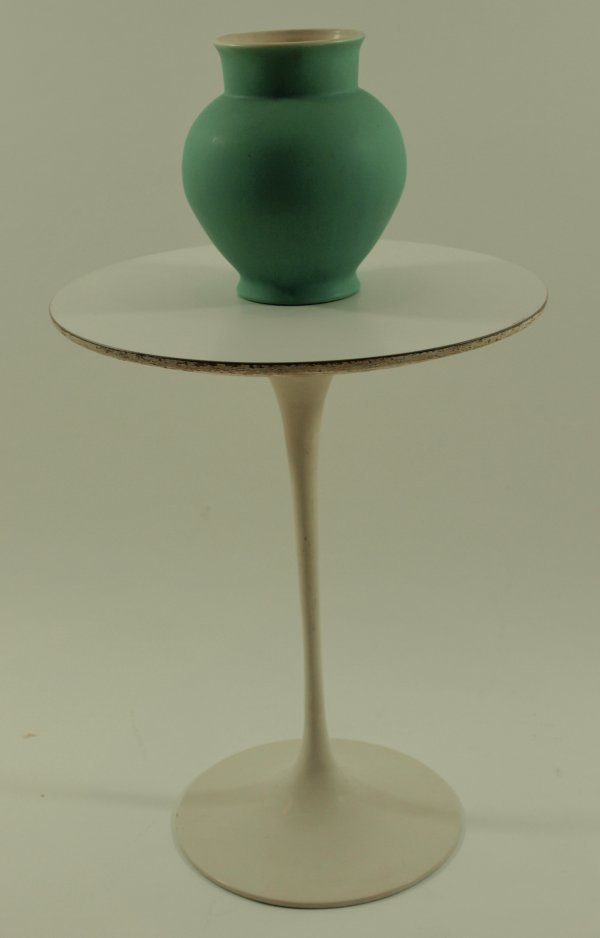 """1024: 1960's Original Knoll """"Tulip Style"""" End Table"""