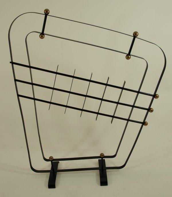 1003: Circa 1950's Eames Era Freestanding Screen