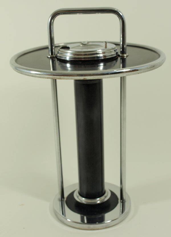 1016: Circa 1930's Howell Art Deco Smoking Stand