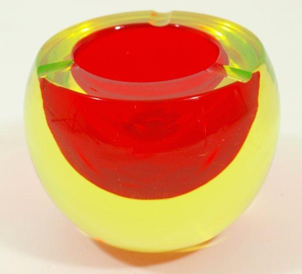 1019: Circa 1960's Cendesa Era Sommerso Art Glass