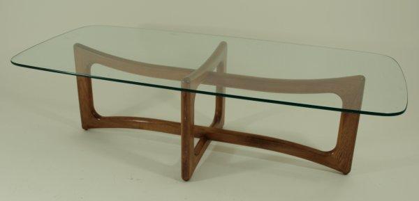 1032: 1960's Danish Modern Coffee Table Kagan Era