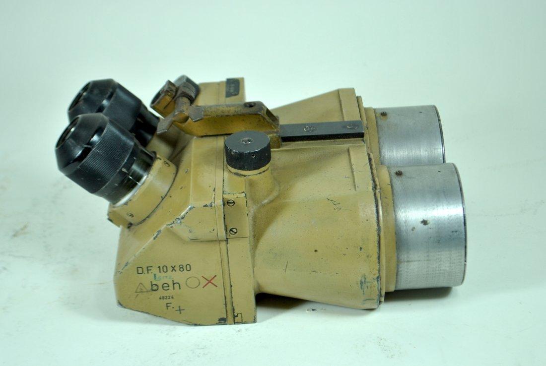 WWII Leitz D.F. 10 x 80 Flak Binoculars