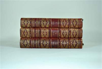 3 Vol Set History of the Indian Tribes of North America