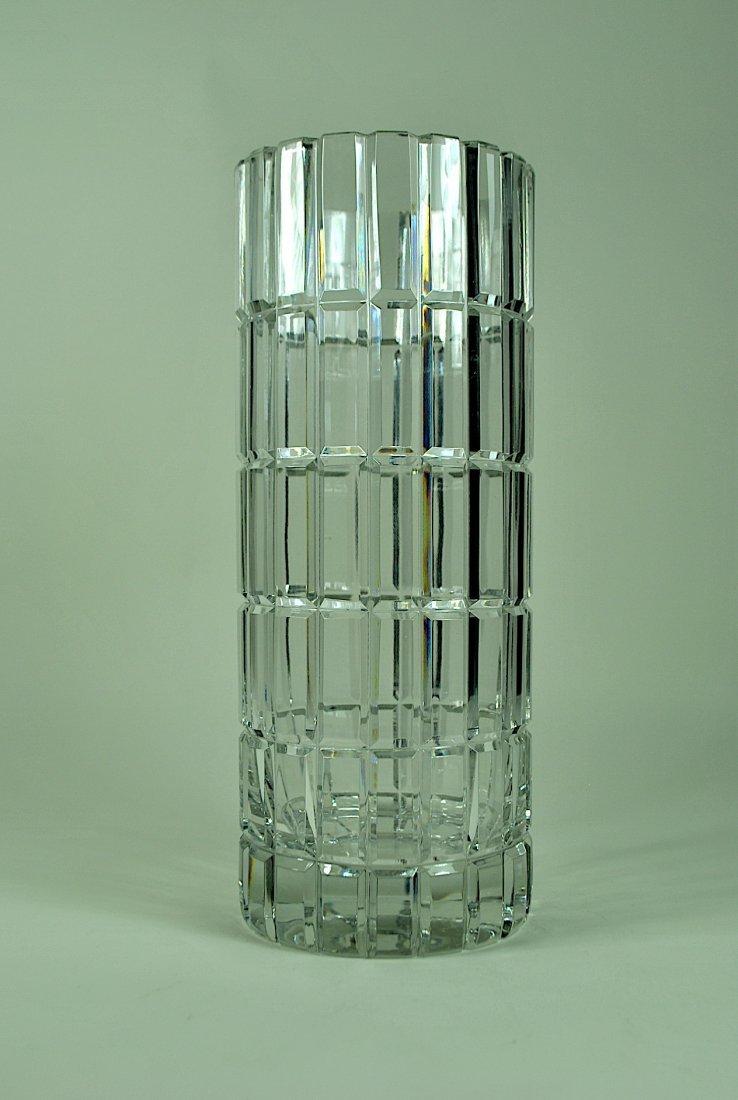 Cartier cut crystal cylinder vase signed cartier cut crystal cylinder vase reviewsmspy