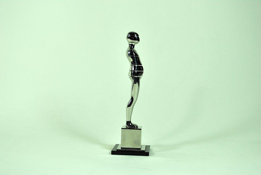 Ernest Tino Trova 'Horizontal Cut Figure' Sculpture - 3