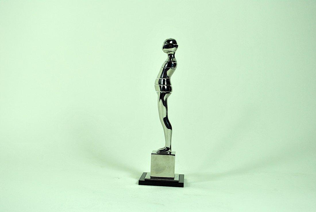 Ernest Tino Trova 'Horizontal Cut Figure' Sculpture - 5