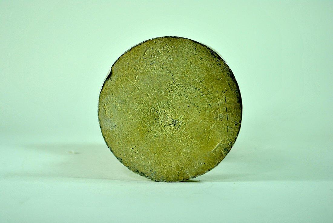 Russel Wright 'Hokus' Elephant Nickel Plated Doorstop - 5