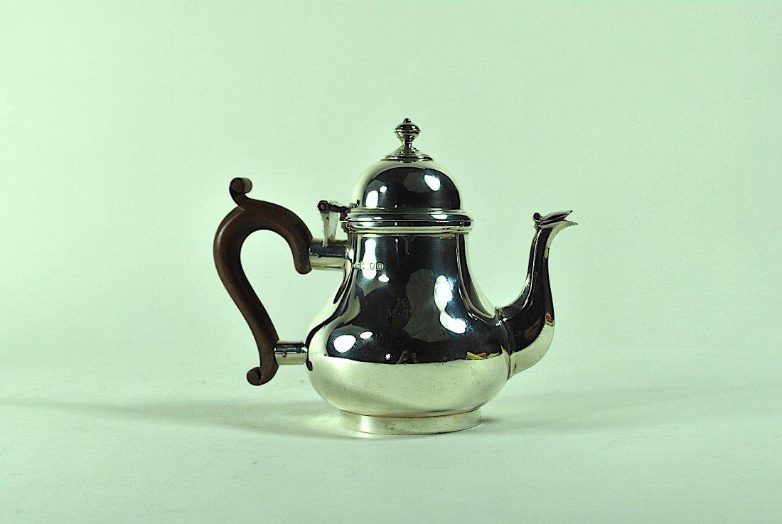 English Sterling Teapot - 3