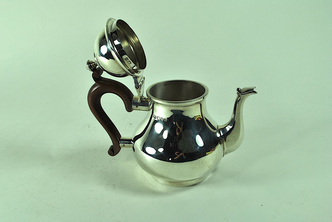 English Sterling Teapot - 7