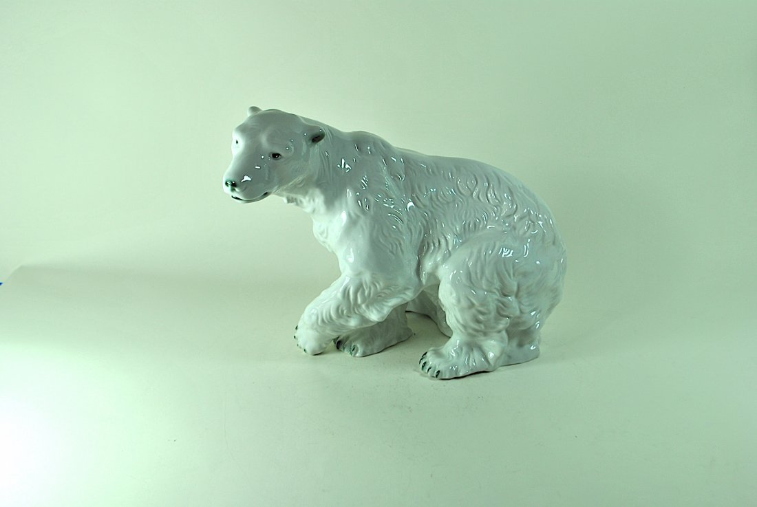 Signed Royal Dux Polar Bear
