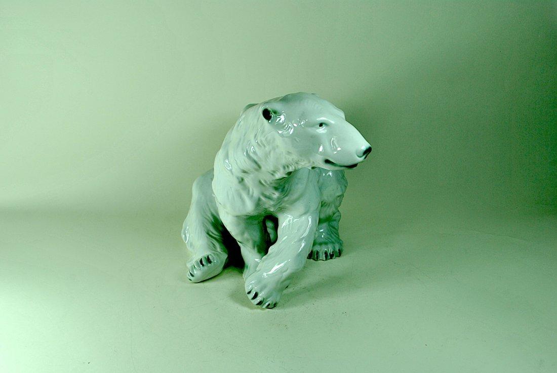 Signed Royal Dux Polar Bear - 2