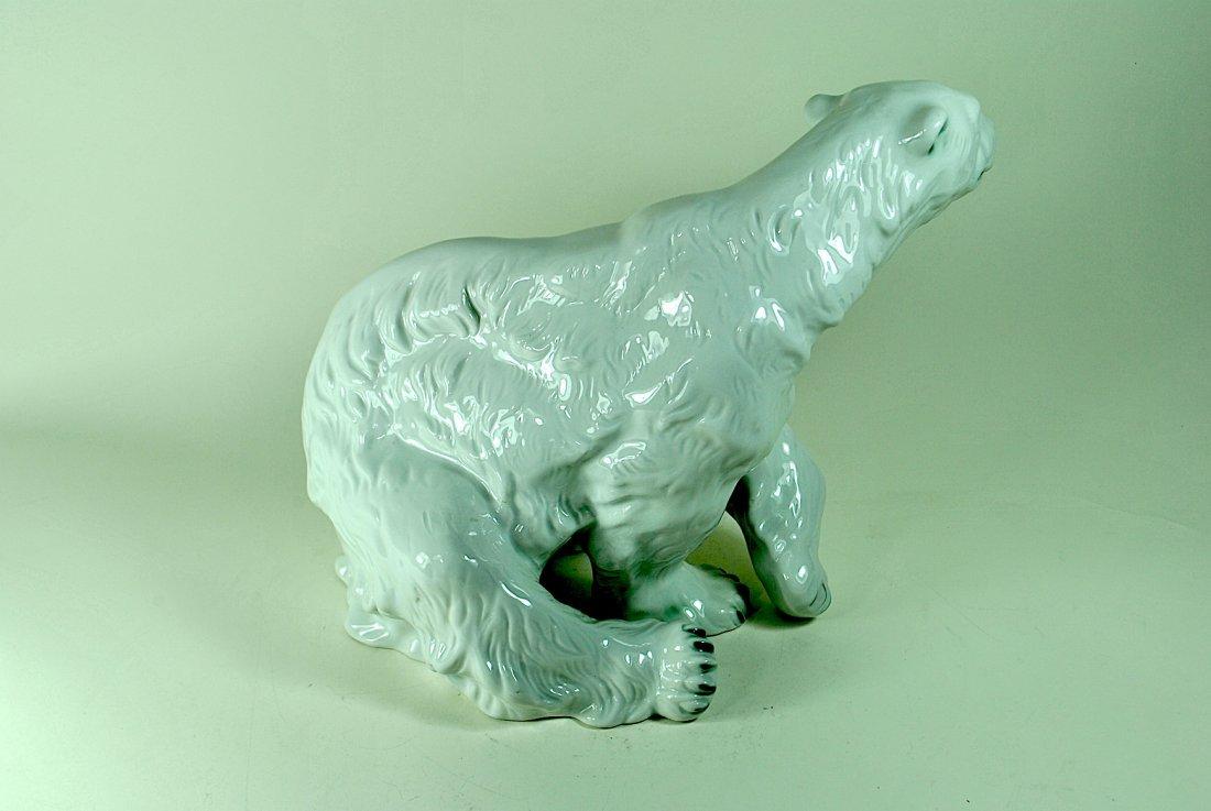 Signed Royal Dux Polar Bear - 3