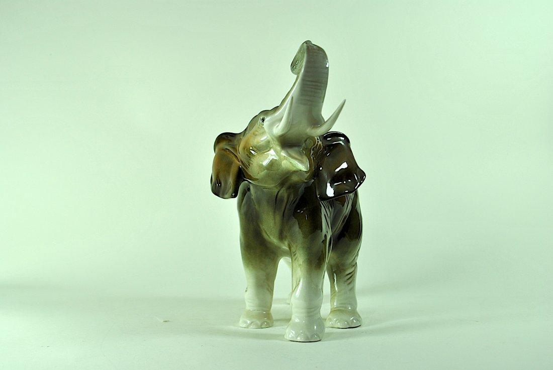 Signed Royal Dux Elephant - 2