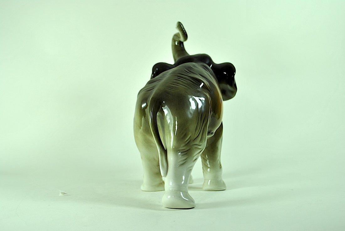 Signed Royal Dux Elephant - 4