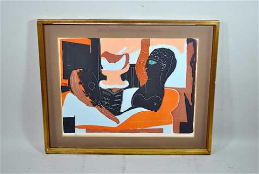 Ltd. Ed. Picasso Litho \'Nature Morte a La Tete Antique\'