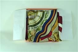 Hermes Silk Scarf wOriginal Box