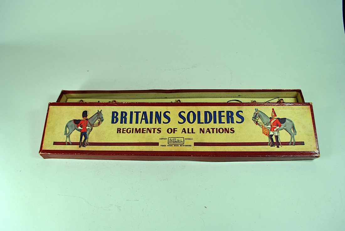 5 Pc. Set of Britains Lead Belgian Army Soldiers - 6