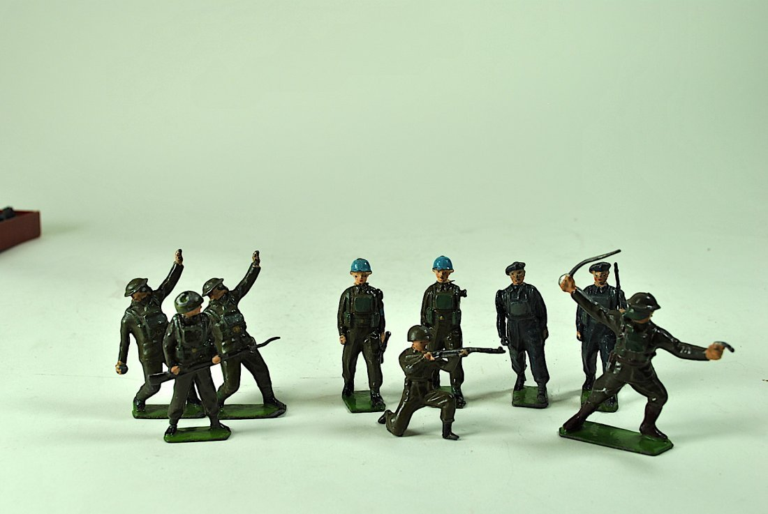Group of 35 Britains - 3 Sets of Lead British Infantry - 2