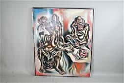Signed Mikhail Zviagin Oil on Canvas
