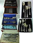120 Pc Tiffany  Co Makers English King Sterl Flatware