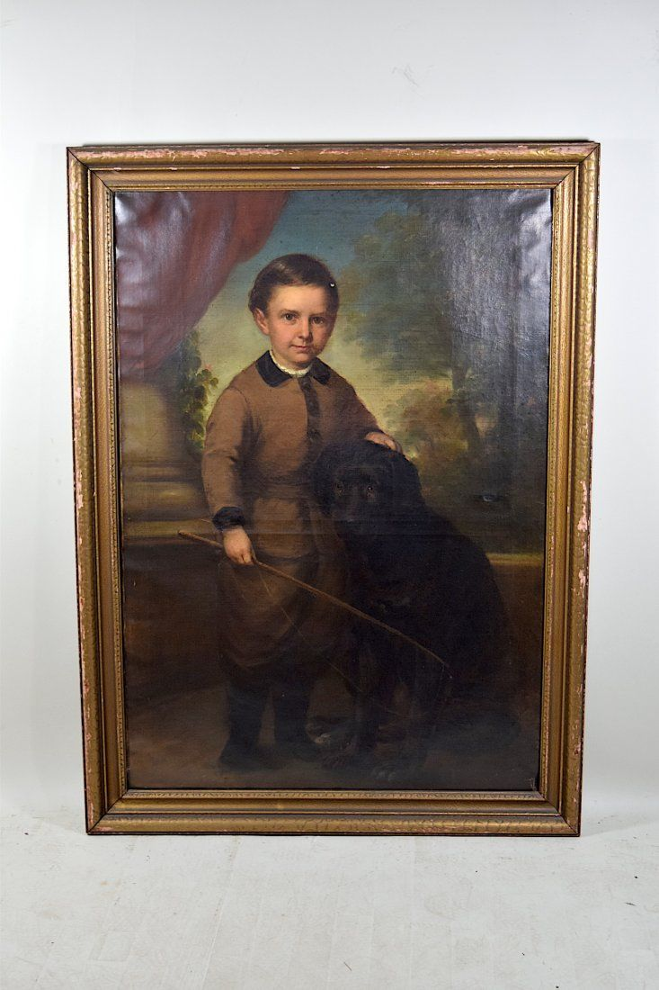 Signed CF Weigandt Oil on Canvas