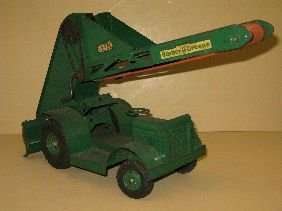 387: MODEL TOYS BARBER GREENE BUCKET LOADER