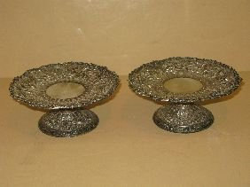 402: PR TIFFANY MAKERS REPOUSSE STERLING STANDS