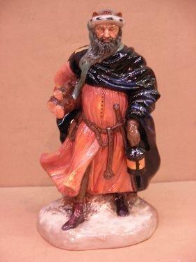 417: ROYAL DOULTON FIGURE 'GOOD KING WENCESLAS'