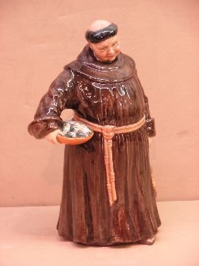 418: ROYAL DOULTON FIGURINE 'THE JOVIAL MONK'