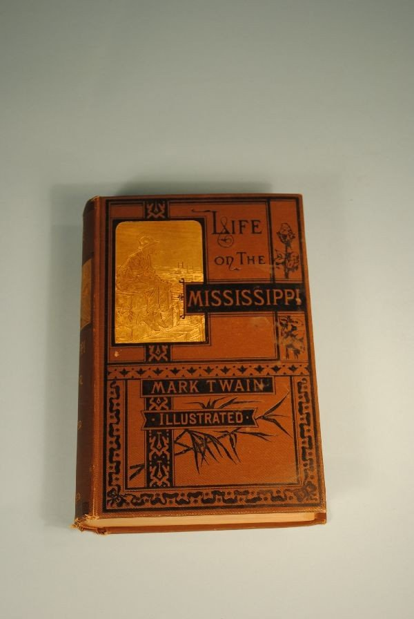 "5: MARK TWAIN BOOK ""LIFE ON THE MISSISSIPPI"""