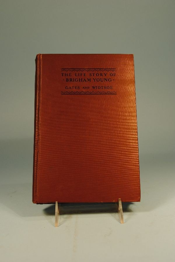 "8: BOOK ""THE LIFE STORY OF BRIGHAM YOUNG"""