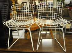 Pair Bertoia For Knoll Childrens' Chairs