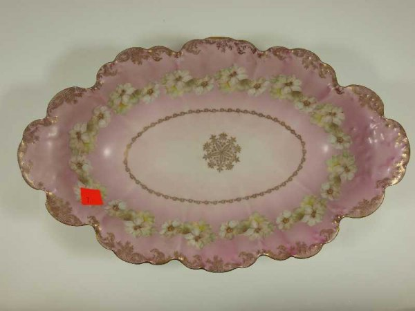 2007: ANTIQUE HAND PAINTED CHINA BOWL