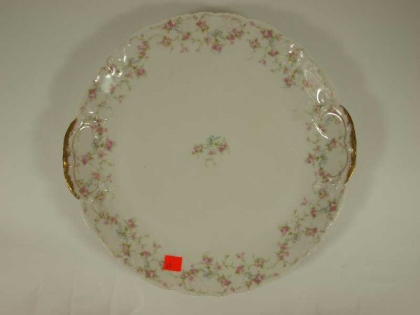 2018: THEODORE HAVILAND LIMOGES CHARGER TRAY