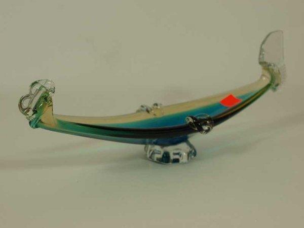 "2021: MURANO GLASS 50'S CENTURY GONDELLA MEASURES 13.5"""