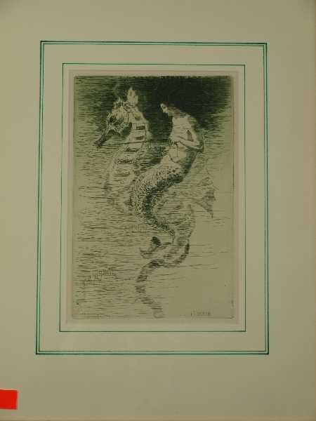 2: FREDERICK STUART CHURCH THE MERMAID ETCHING